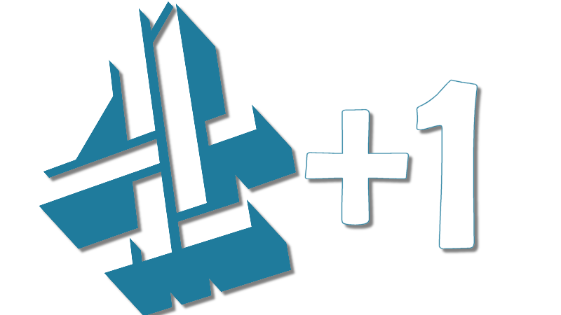 Channel 4 +1 logo